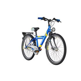 s'cool XYlite 24 3-S Juniorcykel Barn steel blå